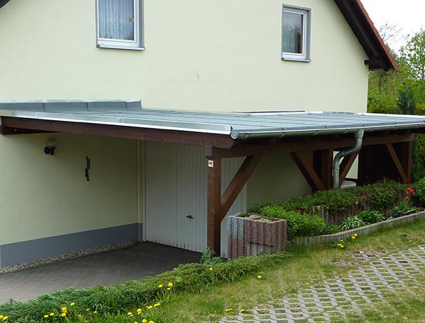 Carports & Holzgaragen