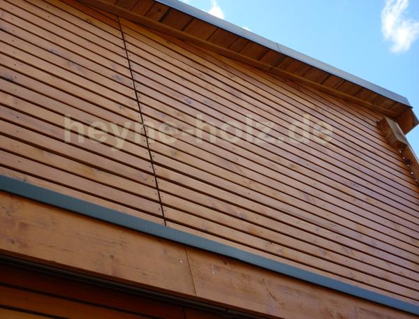 Rhomboidprofil Fassade